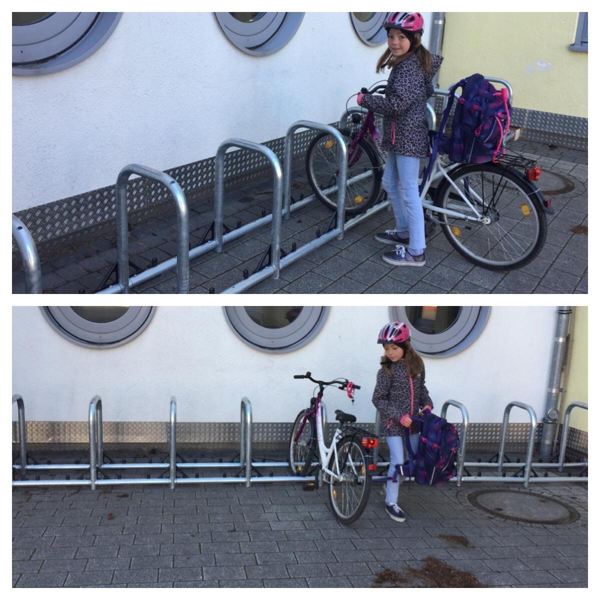 Neue Fahrradständer