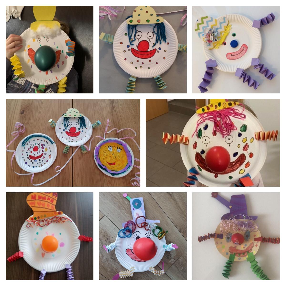 Collage Clown 2
