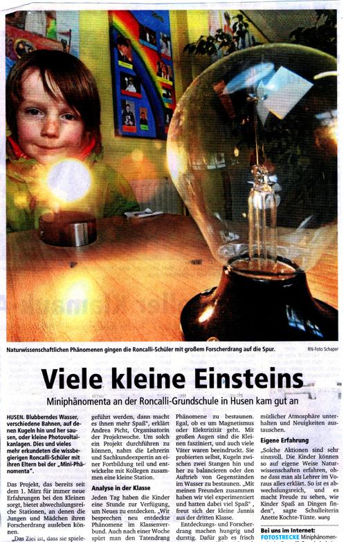 Presse Einstein