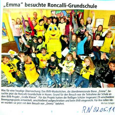 Presse Emma zu Besuch