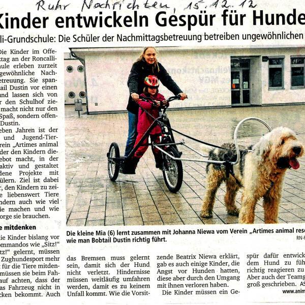 Presse Gespür für Hunde