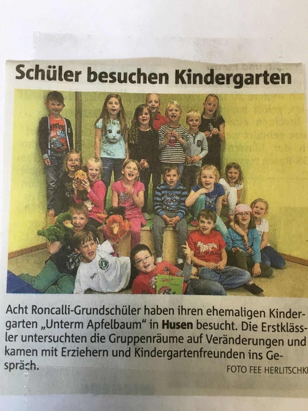 Presse Kindergartenbesuch