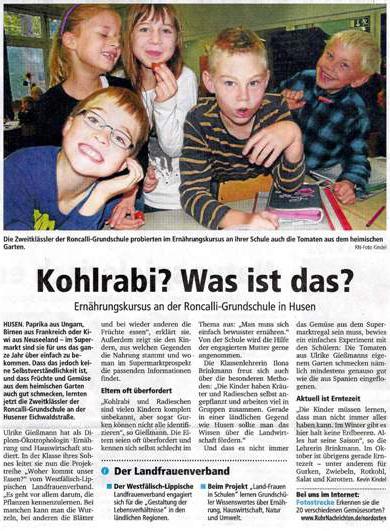 Presse Kohlrabi