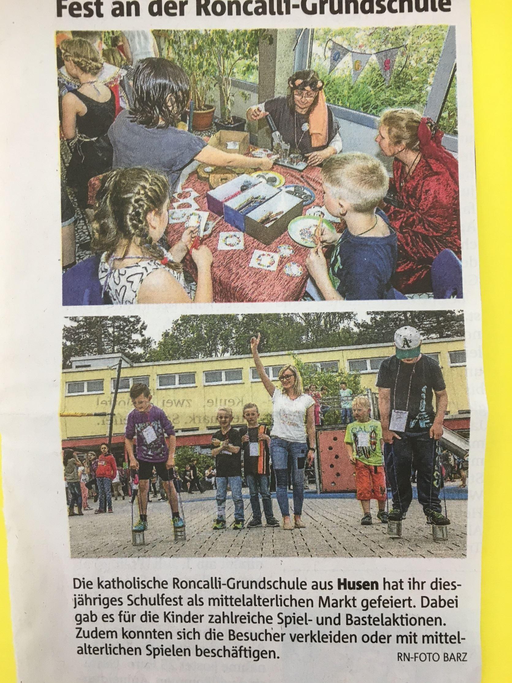 Presse Schulfest