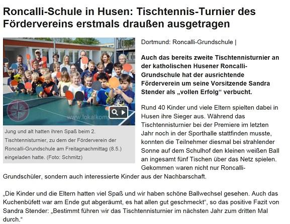 Presse Tischtennis