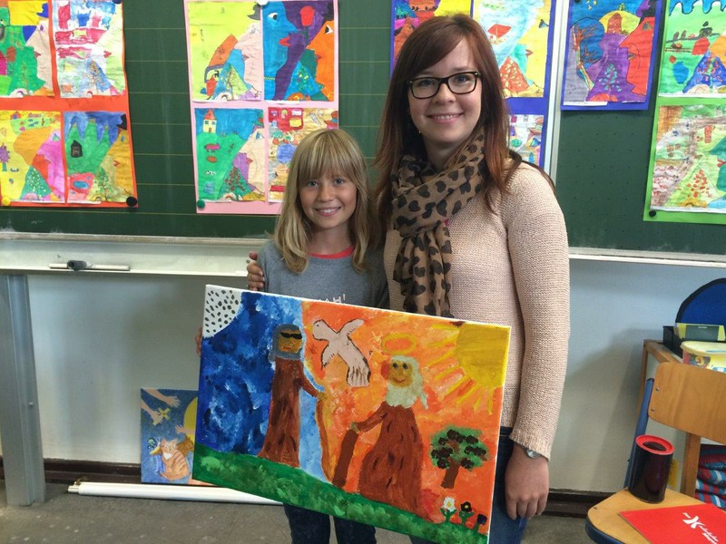 Projekt Den Pinsel schwingen wie Chagall