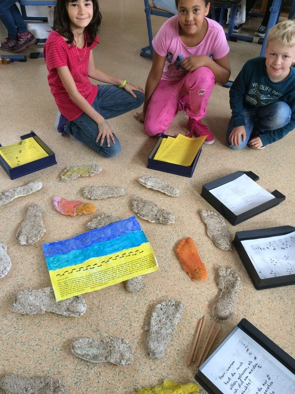 Projekt Spuren im Sand