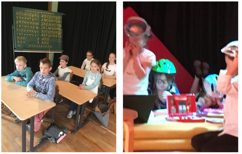 Projekt Theaterstück Schule Damals Heute Morgen